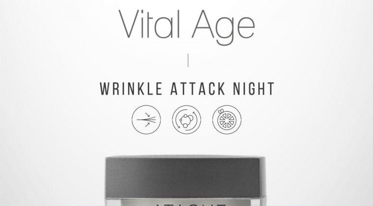La nuova crema Wrinkle Attack Night